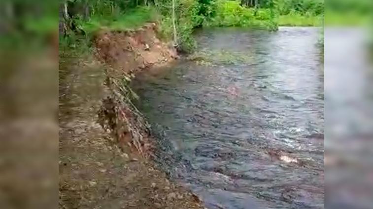 Прошедшие дожди привели к формированию паводка на северных реках Приамурья