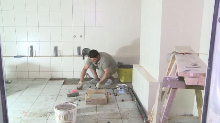 Реконструкция отделения реанимации областной клинической больницы подходит к завершению
