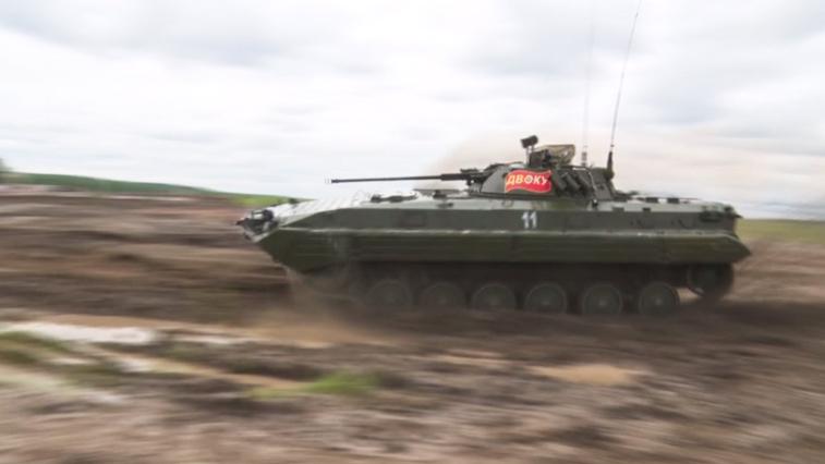 На полигоне ДВОКУ сегодня стартовал всероссийский конкурс «Суворовский натиск»
