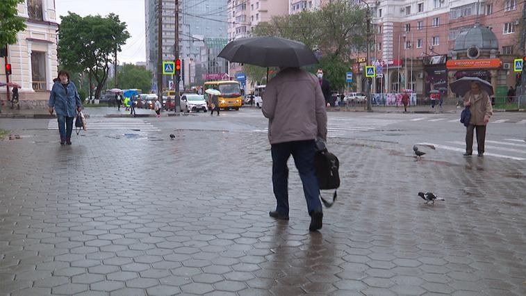 Благовещенск не покидают дожди: прогноз на воскресенье