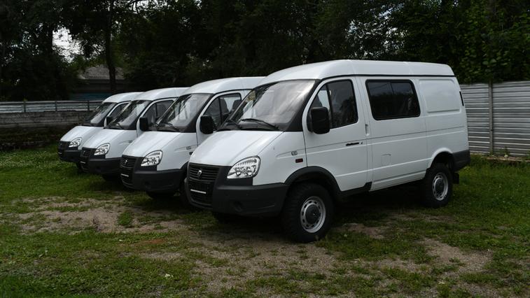 Четыре новых «Соболя» получили амурские спасатели