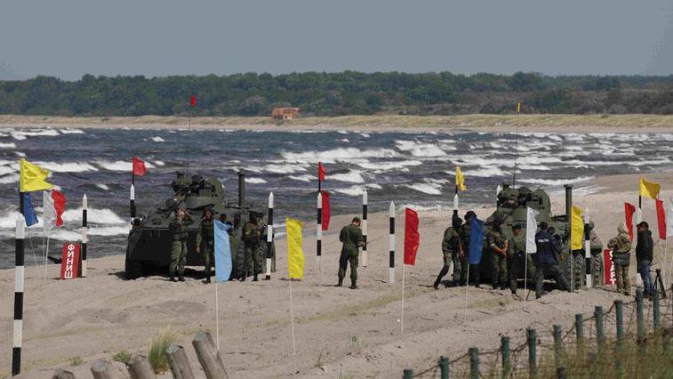 ДВОКУ – сила! Амурские курсанты заняли первое место в конкурсе «Морской десант»