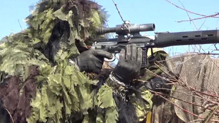 Амурские снайперы прошли курс обучения стрельбе на сверхдальние дистанции
