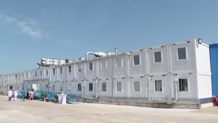 Многопрофильный госпиталь введён в строй на территории Амурского ГПЗ