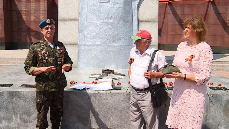 В Благовещенск прибыла капсула с землей из Минска