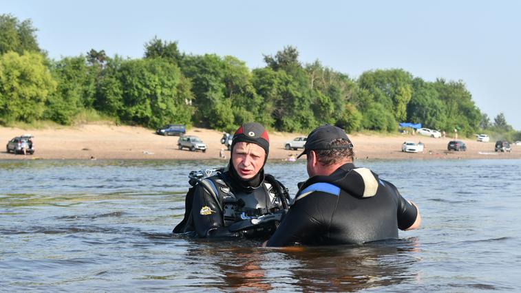 Поиски утонувшего в районе п. Зазейский мужчины не принесли результатов