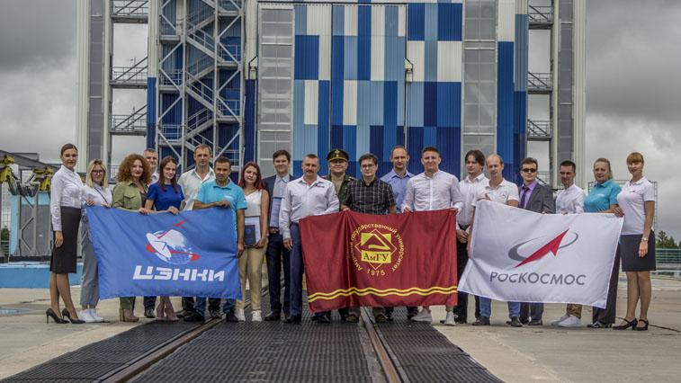 Первые выпускники-«космонавты» инженерно-физического факультета АмГУ получили дипломы на стартовом комплексе «Восточного»