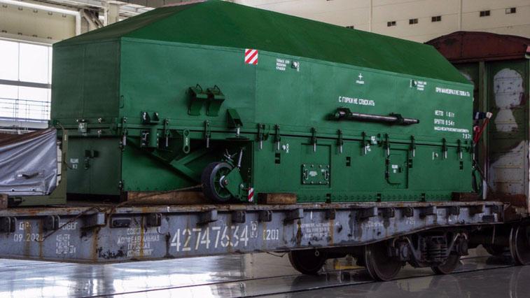На космодром «Восточный» доставили макет аппарата «Кондор-ФКА»