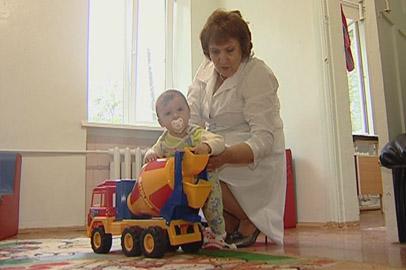 В больнице Прогресса находят приют неблагополучные дети