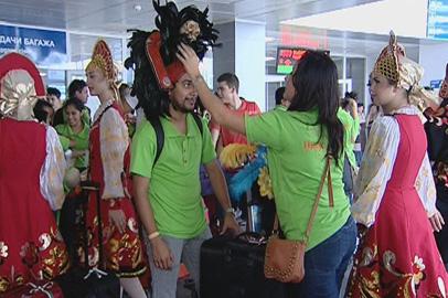 В Приамурье приехали участники танцевального коллектива из Мексики