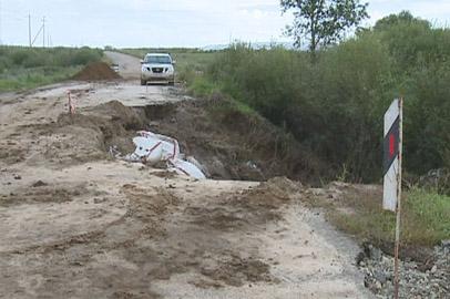 В Приамурье разрушено 700 километров дорожного полотна