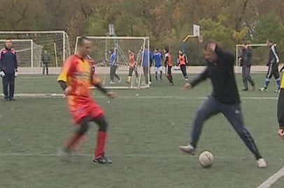 Областные соревнования по мини-футболу среди сотрудников МЧС прошли в Благовещенске