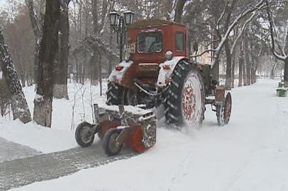 Январские снегопады в Благовещенске уже превысили норму