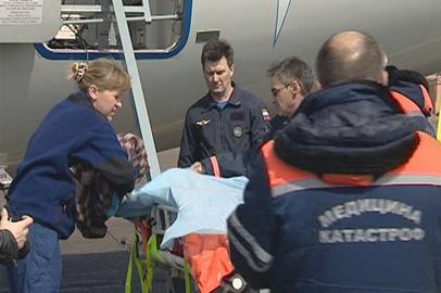 Троих пострадавших завитинцев доставили в московский ожоговый центр