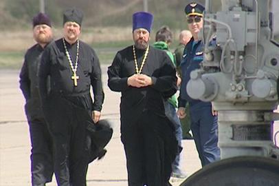 Военные священники побывали на авиабазе «Украинка»