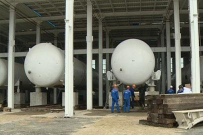 На «Восточном» начался монтаж технологического оборудования