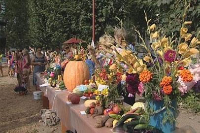 Благовещенские садоводы устроили праздник урожая