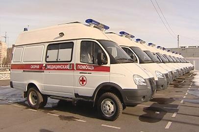 20 автомобилей скорой помощи получили медучреждения Приамурья