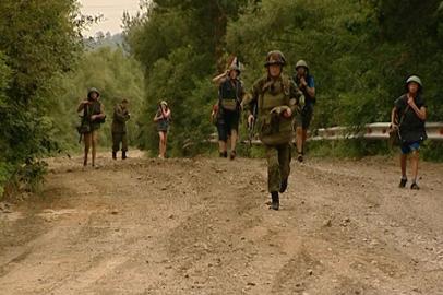Участники смены для трудных подростков отразили «нападение» на лагерь «Колосок»