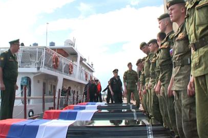 Останки российских солдат доставили на Родину спустя столетие