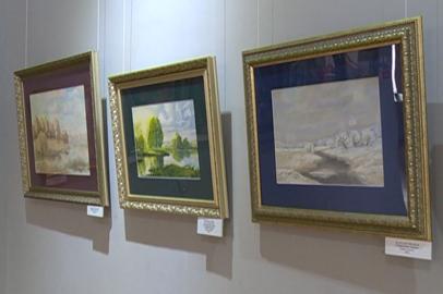 Выставка художника Виктора Хиля открылась в областном краеведческом музее