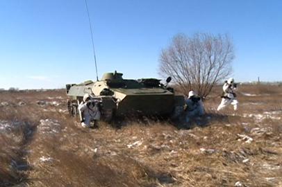 Военные полка РХБЗ амурского объединения ВВО сдали итоговые экзамены