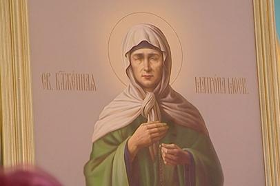 Мощи блаженной Матроны Московской привезли в храм благовещенского села Игнатьево