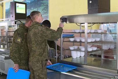 Электронную систему контроля питания внедряют в воинских столовых Приамурья