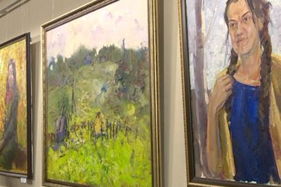 В Благовещенске открылась выставка молодых художниц