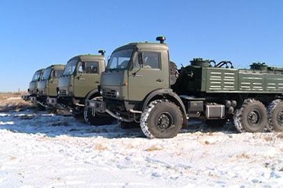 Новые спецавтомобили поступили в амурский полк РХБЗ