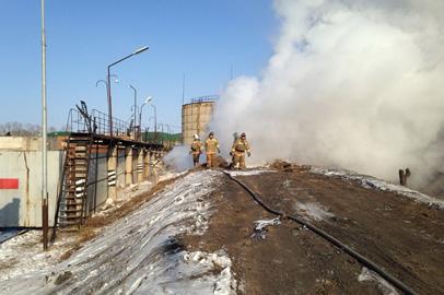 Один человек погиб при взрыве на мазутохранилище в Белогорске