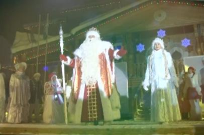 Благовещенцев приглашают отметить день рождения Деда Мороза