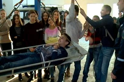 Спасатели рассказали благовещенским школьникам о своей работе