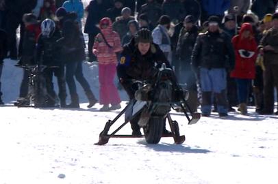 На Чигиринском водохранилище состоялся фестиваль зимнего автомотоспорта