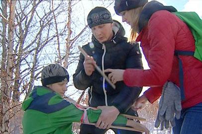 Амурские спасатели провели тренировку по поиску пропавших туристов