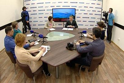 Разговор с губернатором: Александр Козлов ответил на вопросы журналистов
