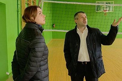 В школе Завитинска отремонтировали спортзал и готовятся открыть тир