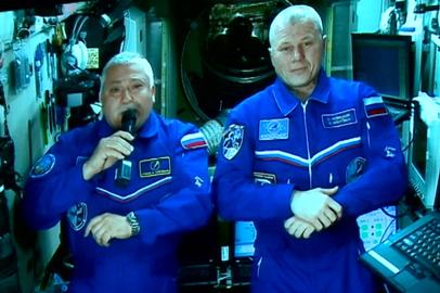 Участников Космофеста «Восточный» приветствовали с МКС