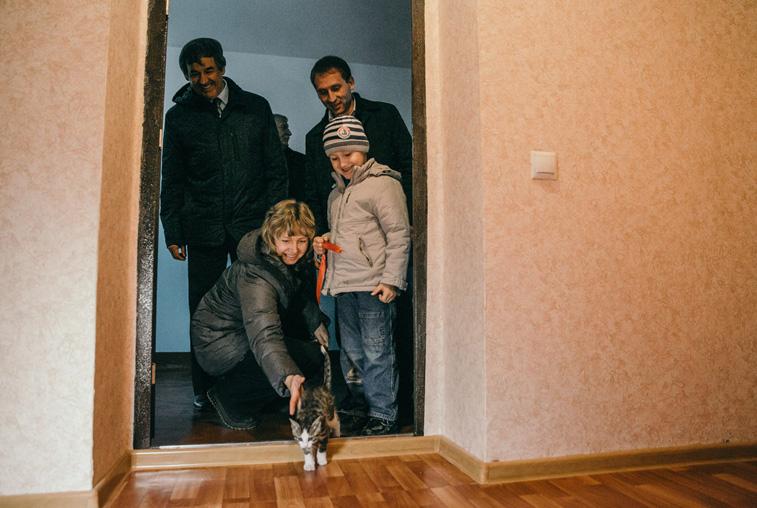 Со сдачей новой четырехэтажки Шимановск завершил программу расселения бараков