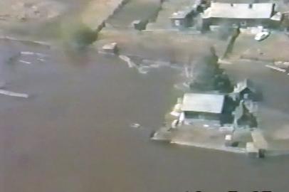 Масштабный паводок на реке Бурея в 1995 г.