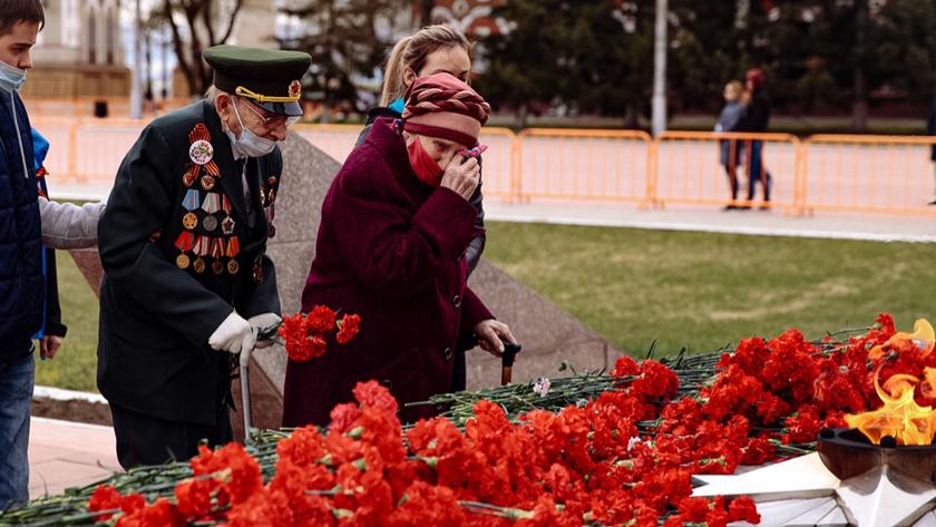 Память воинов-амурцев почтили на площади Победы в Благовещенске